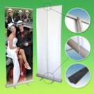Retractable Pull-up Poster Stands